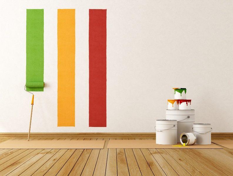wandgestaltung mit der tapete oder farbe. Black Bedroom Furniture Sets. Home Design Ideas