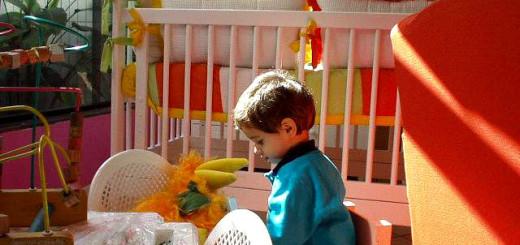 Getrenntes Kinderzimmer