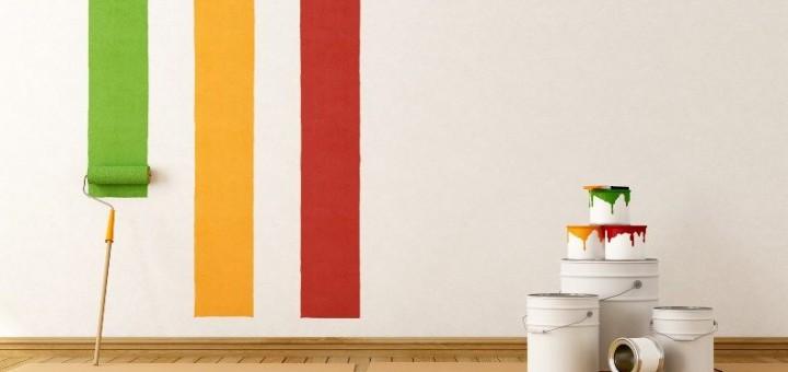 Wandgestaltung mit Wandfarben