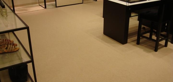 Teppichboden im Geschäft