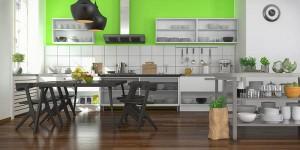 Renovierung der Küche - alle Zeitspuren beseitigen