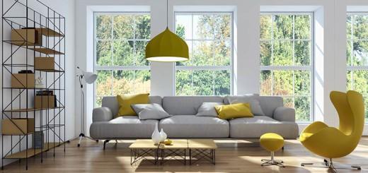 Wohnzimmer - Raffinesse kommt zum Ausdruck