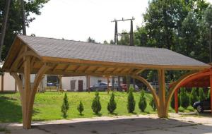 Carport aus Holz - wichtigste Merkmale
