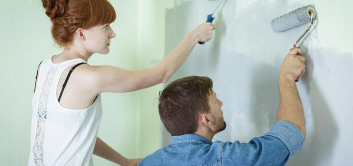 Wände selber streichen - praktische Tipps