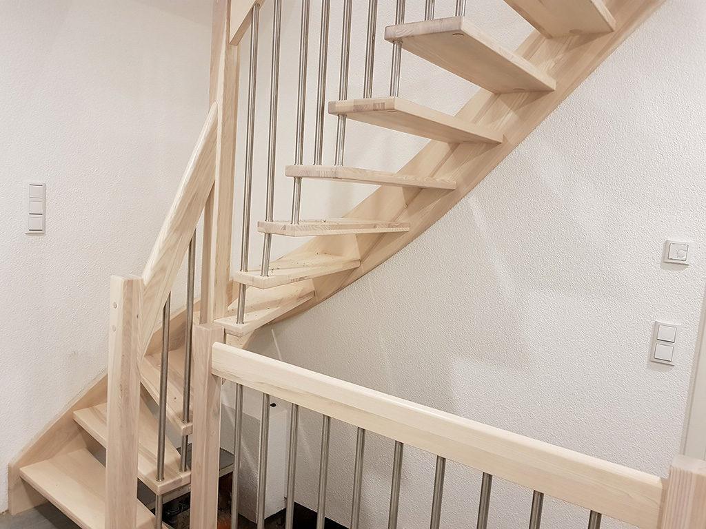 Welches Holz für die Holztreppe?