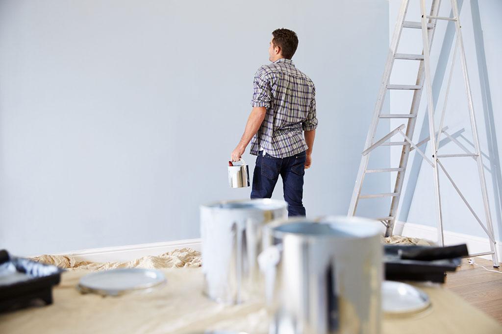 w nde selber renovieren dass soll man beachten. Black Bedroom Furniture Sets. Home Design Ideas
